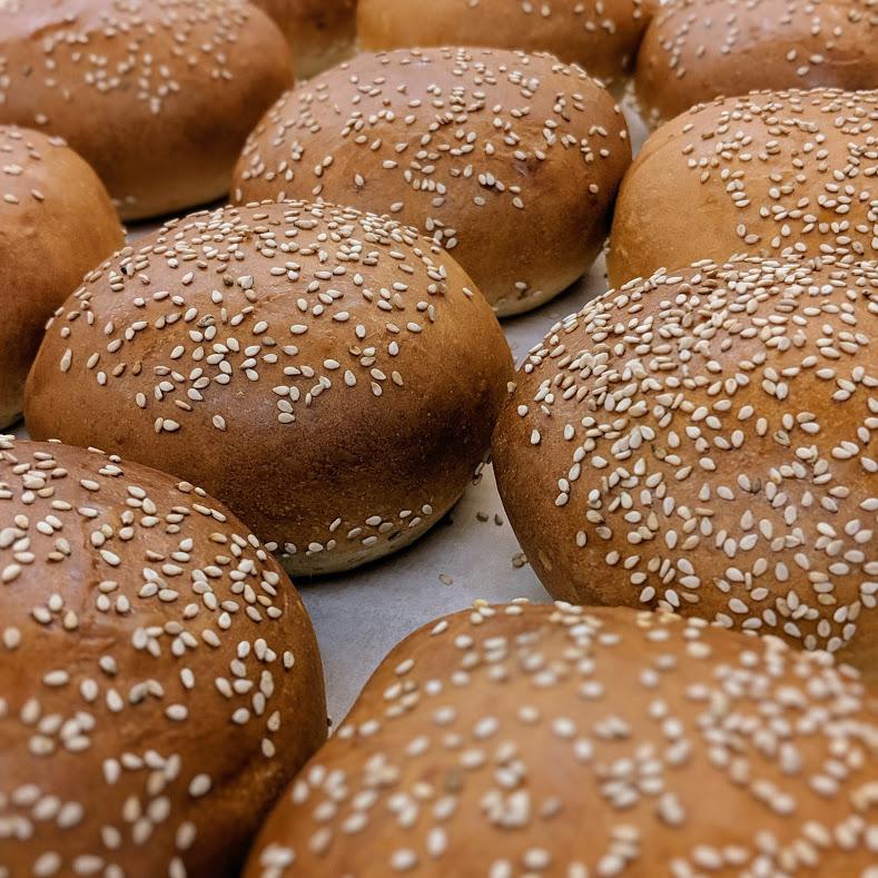 seeded challah buns
